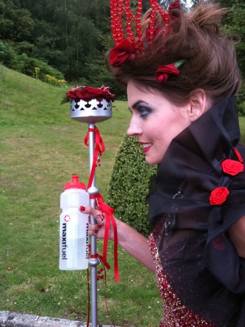 Kate Braithwaite as The Red Queen