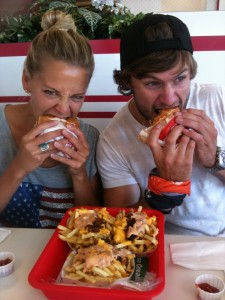 In N Out Burger with Danielle Hobrook and John O'Grady