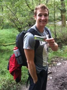 Sean Lerwill hiking