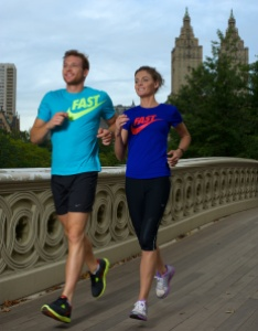 Sean and Kate running in NYC