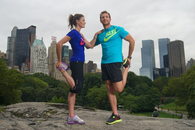 Sean and Kate modelling in NYC