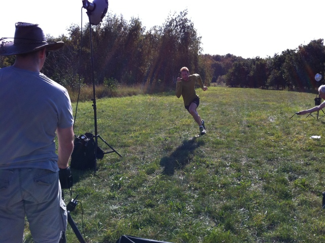 Sean Lerwill's Men's Running cover shoot