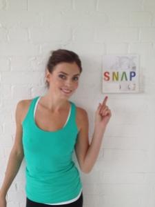 Kate Braithwaite at Snap Studios for the Maxitone shoot
