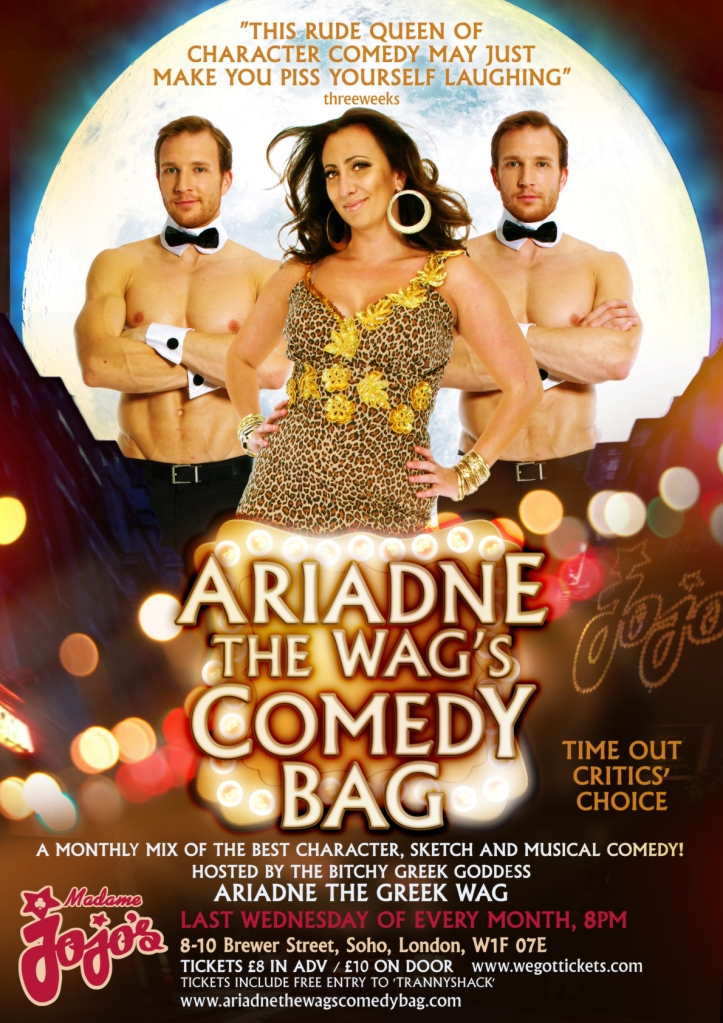 Ariadne the Wag's Comedy Bag