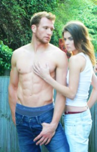 Abercrombie and Fitch shoot with Sean Lerwill and Kate Braithwaite