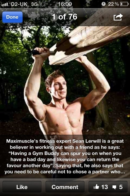 Maximuscle's Facebook fitness tip with Sean Lerwill