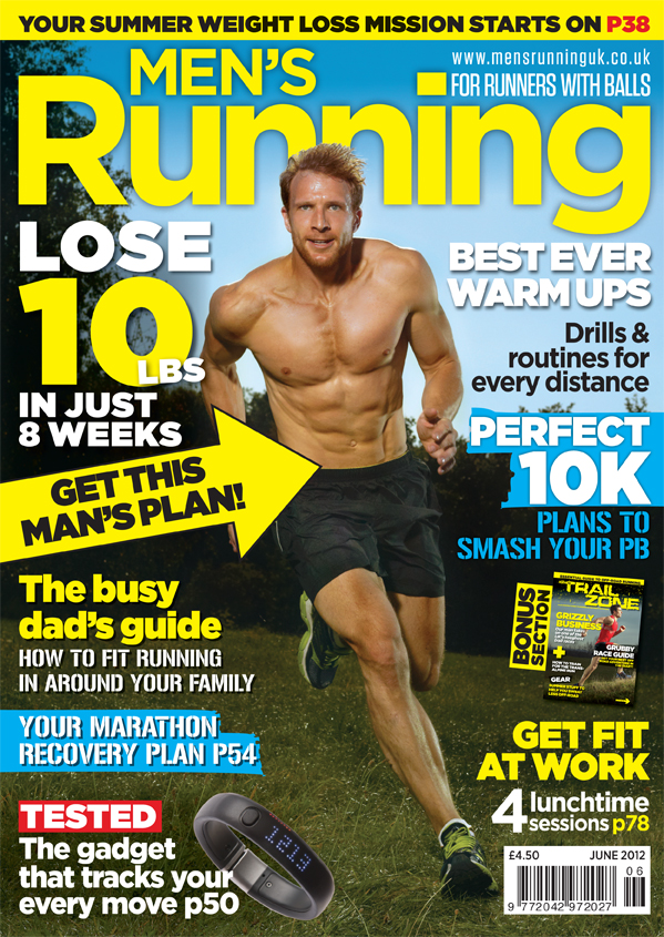 Sean Lerwill's Men's Running cover (June 2012)