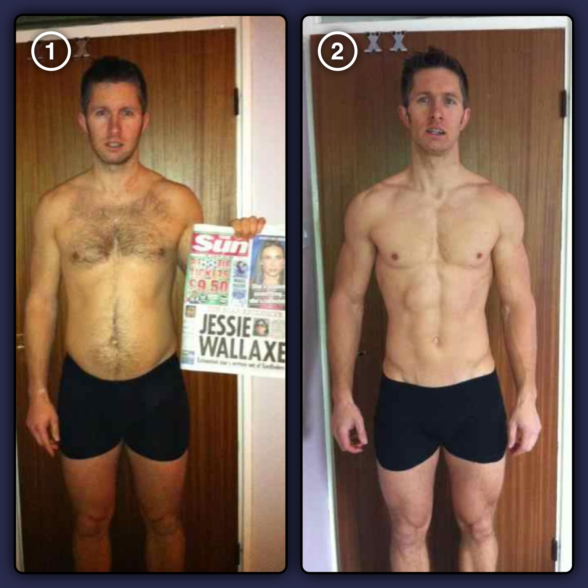 14 week quot fitnesstofollow quot body transformation sean lerwill