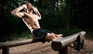 Sean Lerwill outdoor training