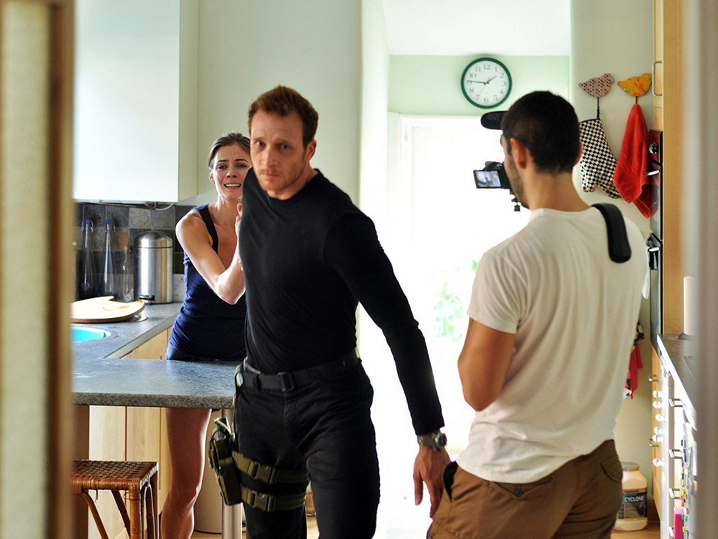 Sean on the Panacea shoot