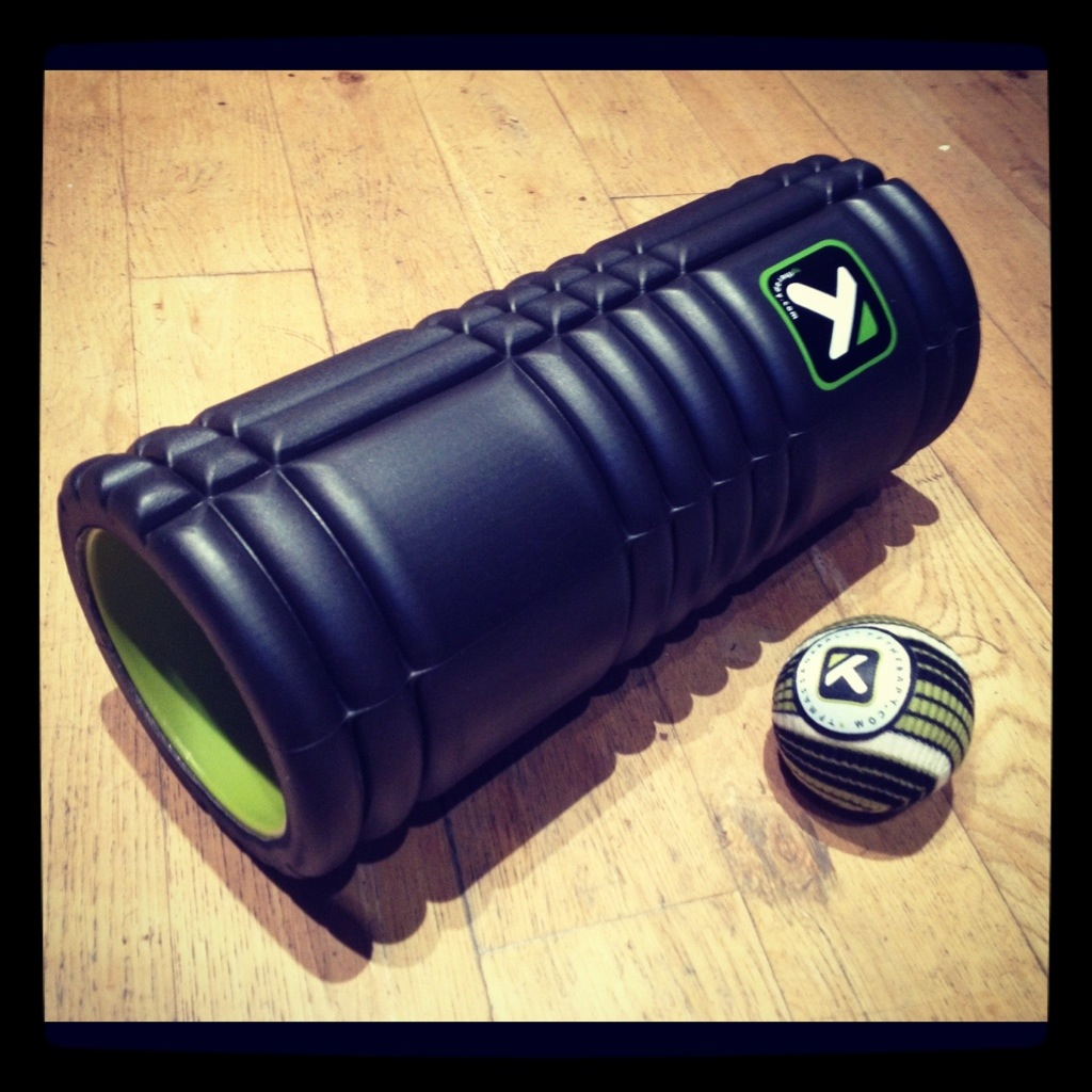 Trigger Point Therapy Roller and Massage Ball