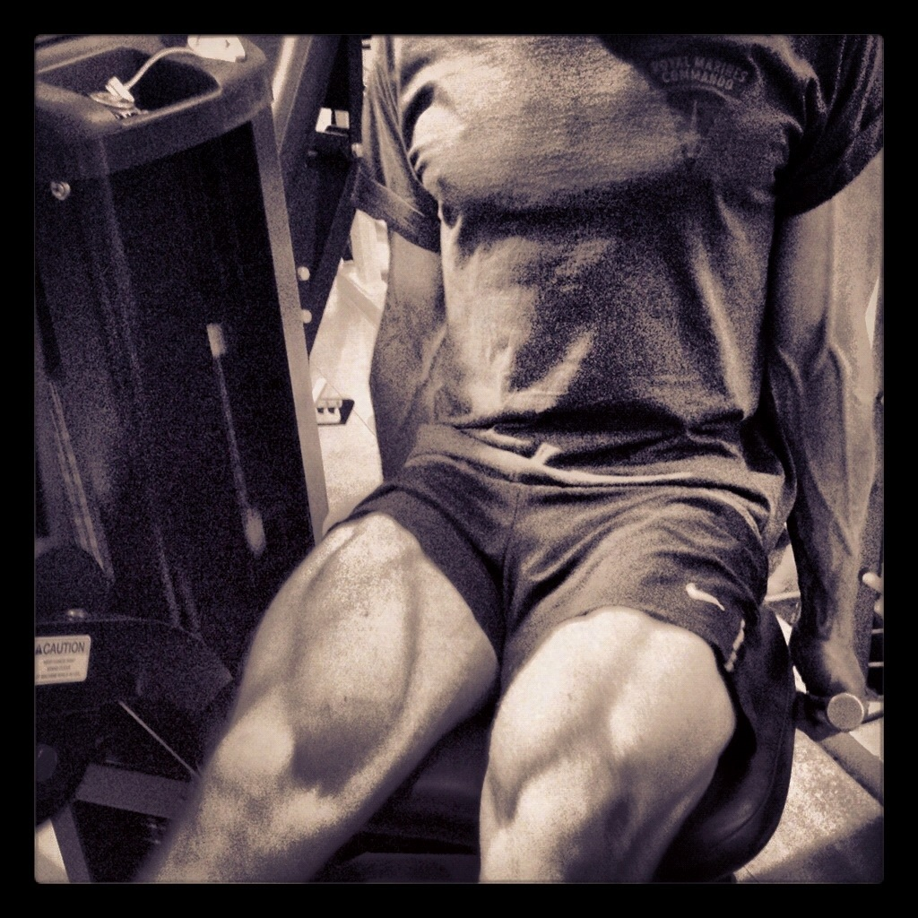 Sean Lerwill leg extensions
