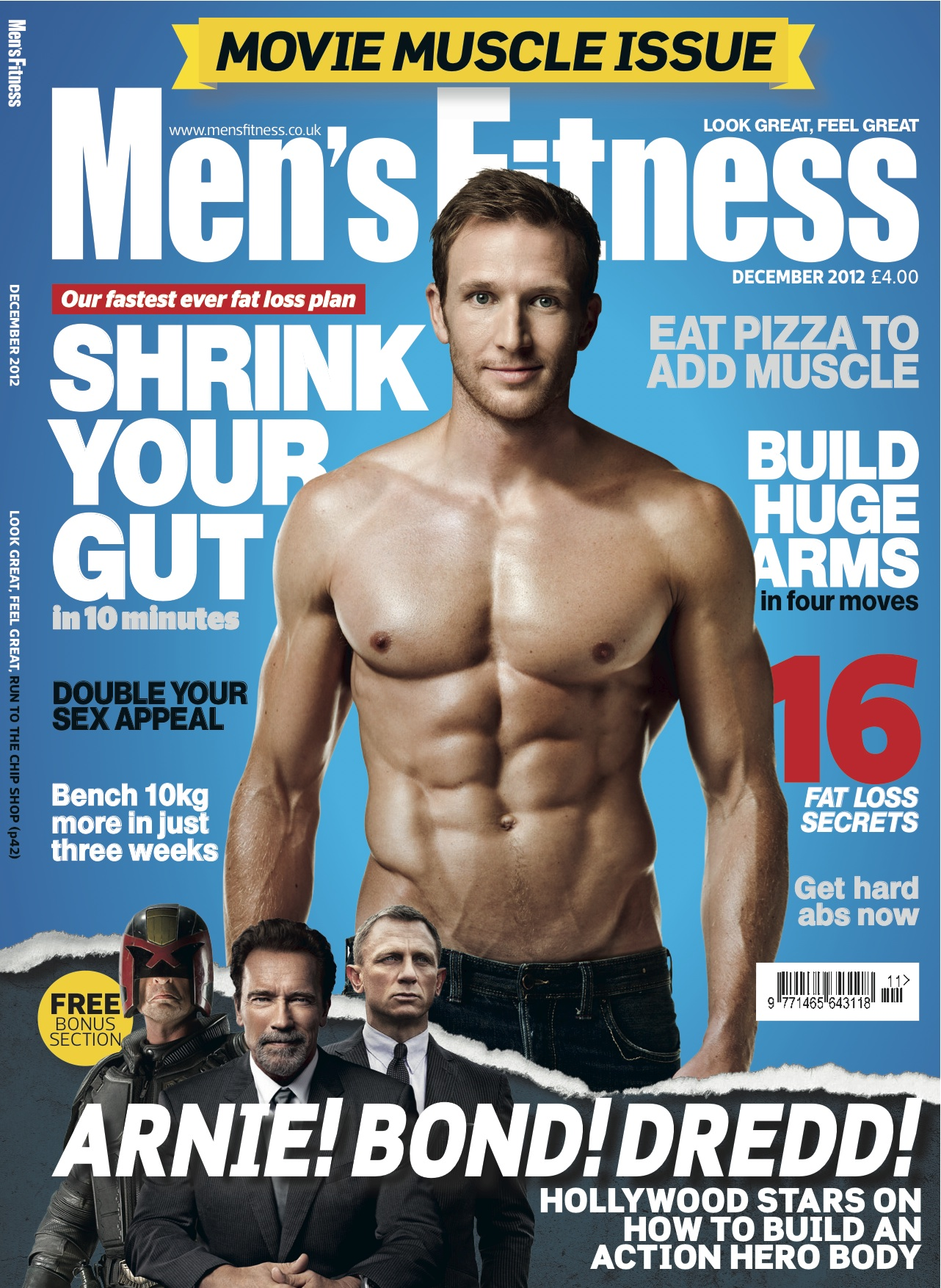 Target women\'s fitness magazines with promotions about the fitness ...