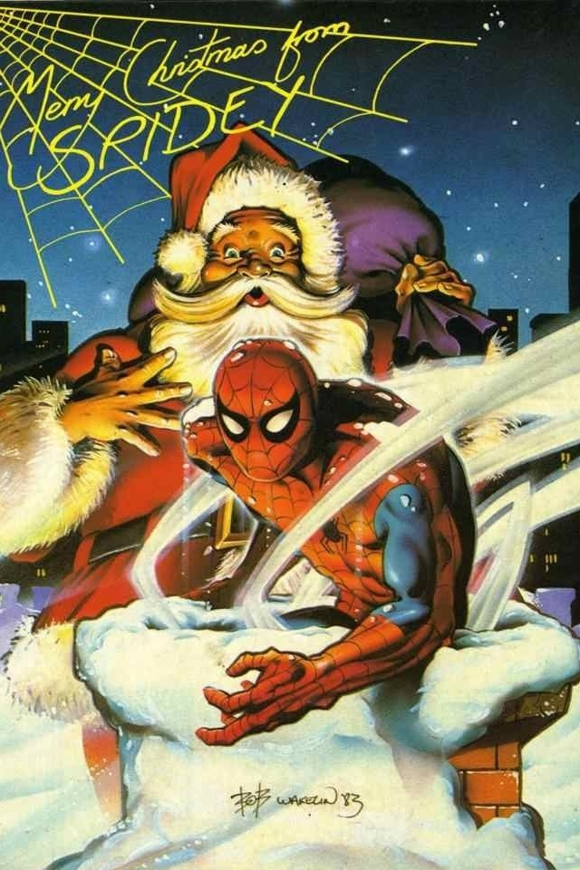 Merry Christmas from Spidey