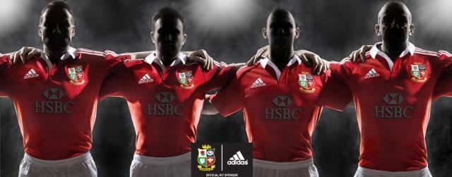 Sean Lerwill's Adidas British Lions rugby shirt