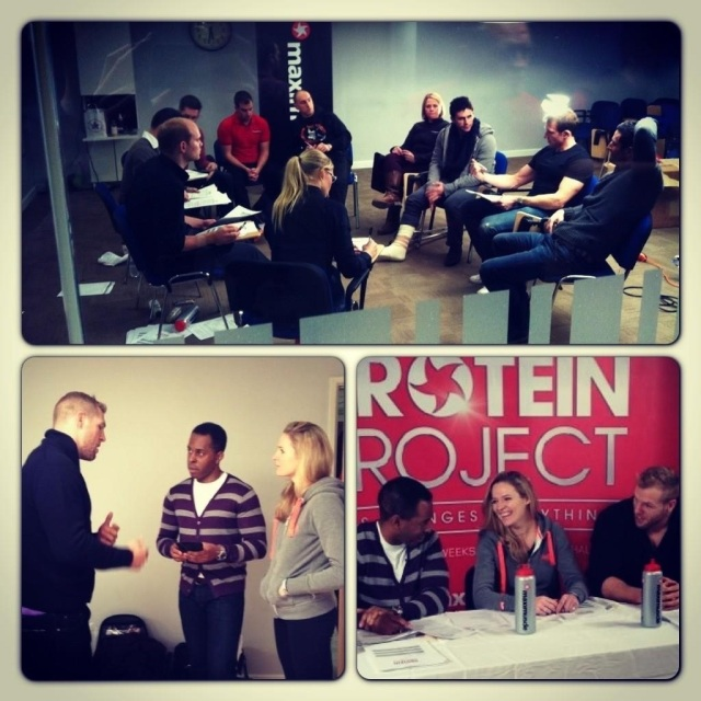 Maximuscle's Protein Project recruitment day